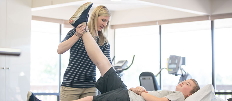 Rehabilitative doctor and Newcastle physiotherapist